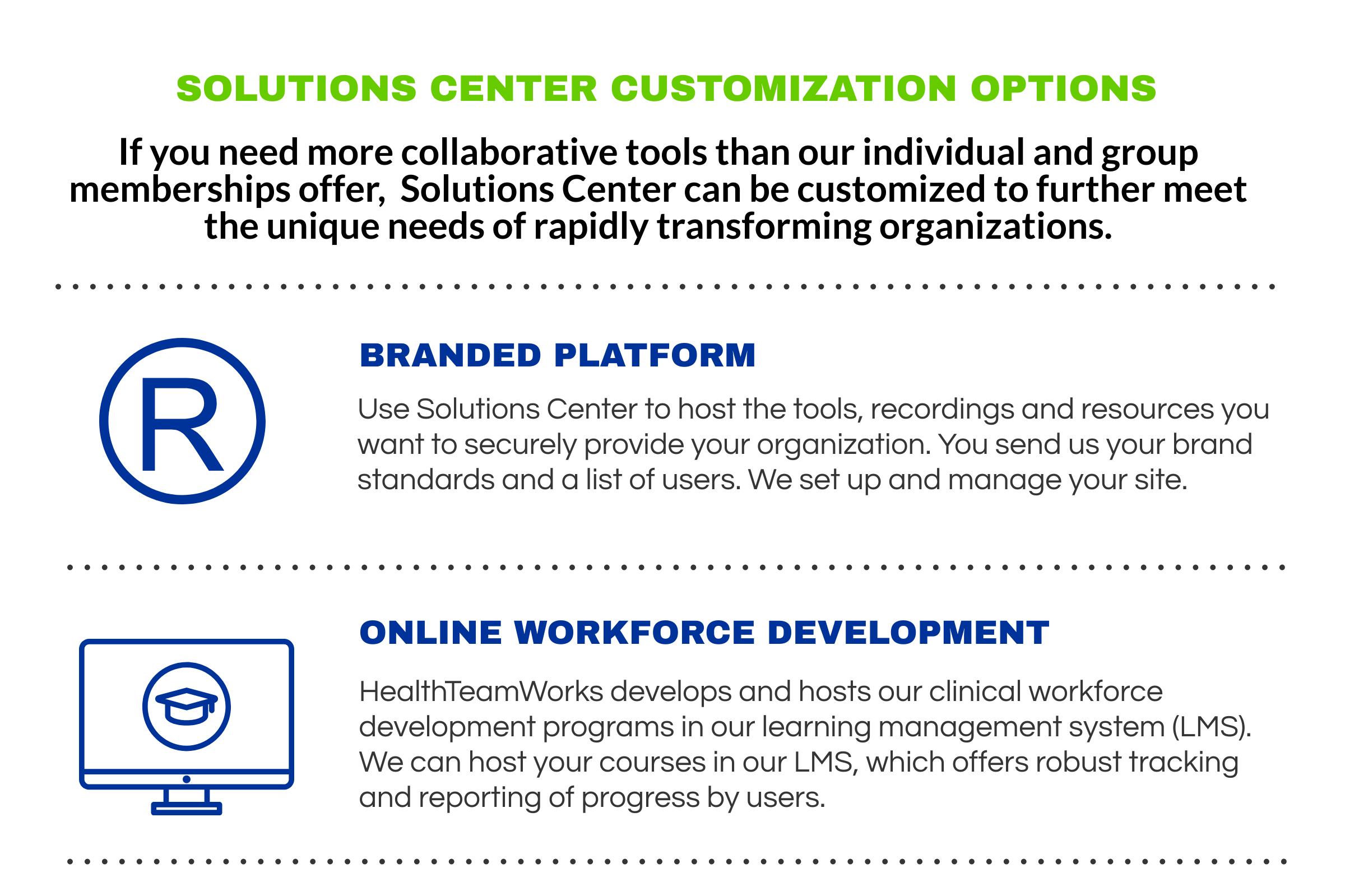 SC Branded Platform Options