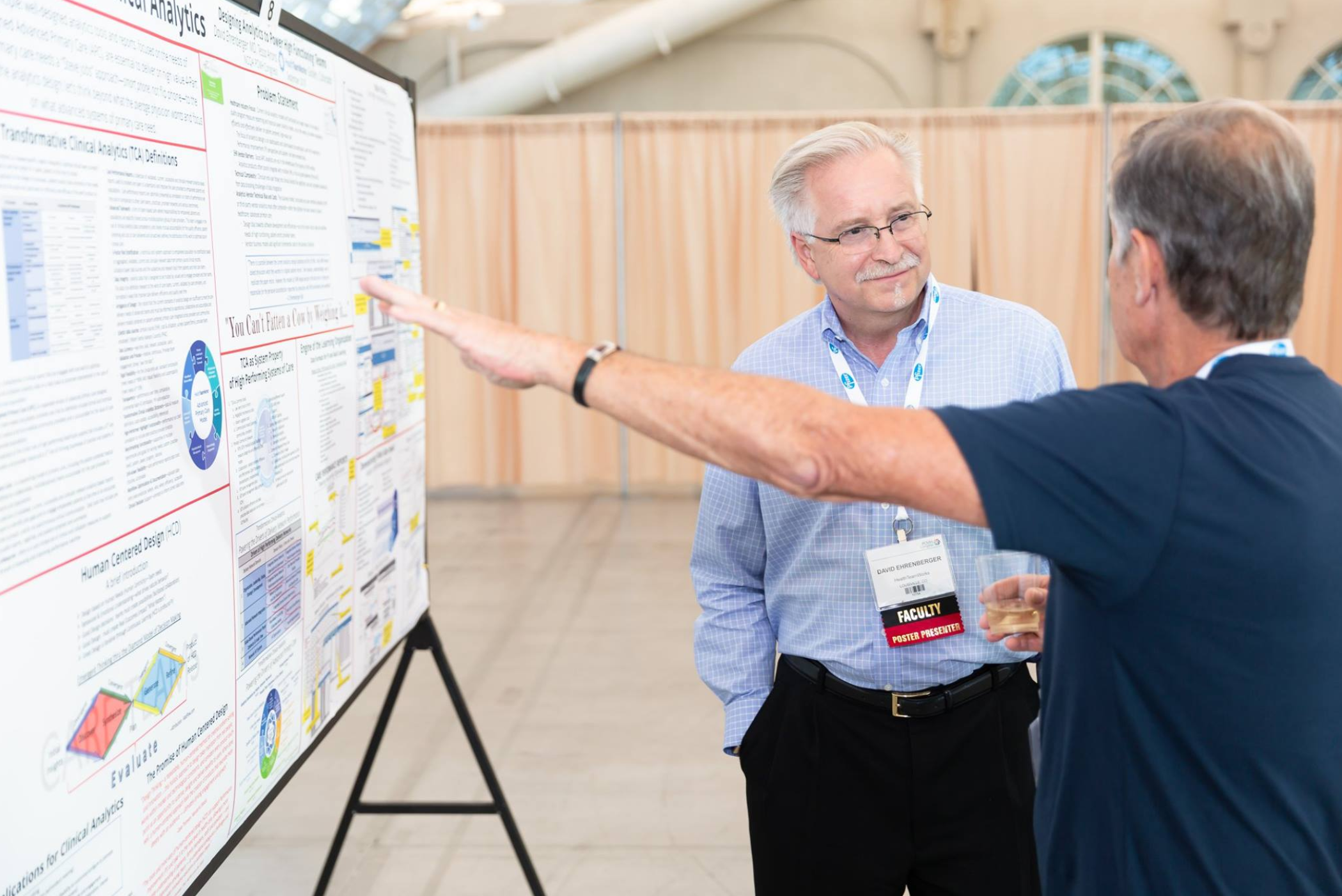 Dr. David Ehrenberger poster session