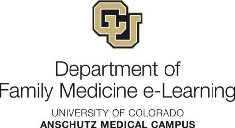 CU University of Colorado DFM eLearning Logo